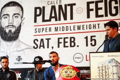 Caleb Plant Vincent Feigenbutz