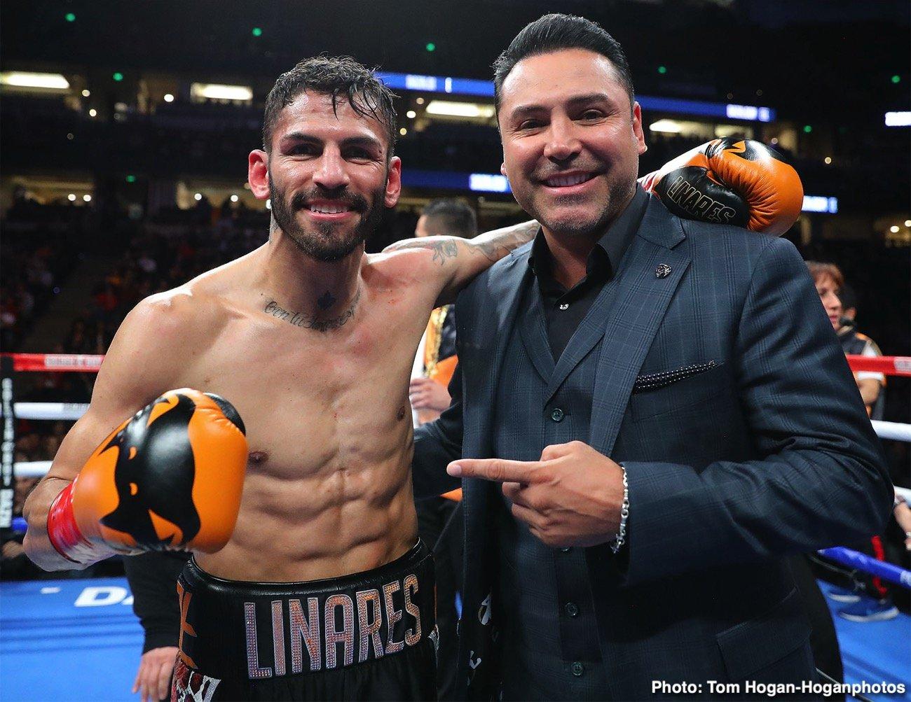 Devin Haney, Jorge Linares, Matchroom Boxing - Boxing News