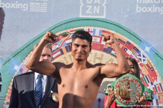 Mikey Garcia - Former 4 division world champion Mikey Garcia (39-1, 30 KOs) isn't troubled with being the much smaller fighter than Jessie Vargas (29-2-2, 11 KO) tonight in their fight at The Star in Frisco, Texas. DAZN will be streaming the fight, as well as the fantastic undercard. There's some really interesting fights involving these fighters:
