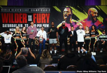 Amir Imam, Charles Martin, Emanuel Navarrete, Gerald Washington, Isaac Lowe, Jeo Santisima, Subriel Matias - Fighters stepping into the ring this Saturday, February 22 on the Deontay Wilder vs. Tyson Fury II undercard previewed their respective showdowns at the final press conference Thursday before they step into the ring at the MGM Grand Garden Arena in Las Vegas.