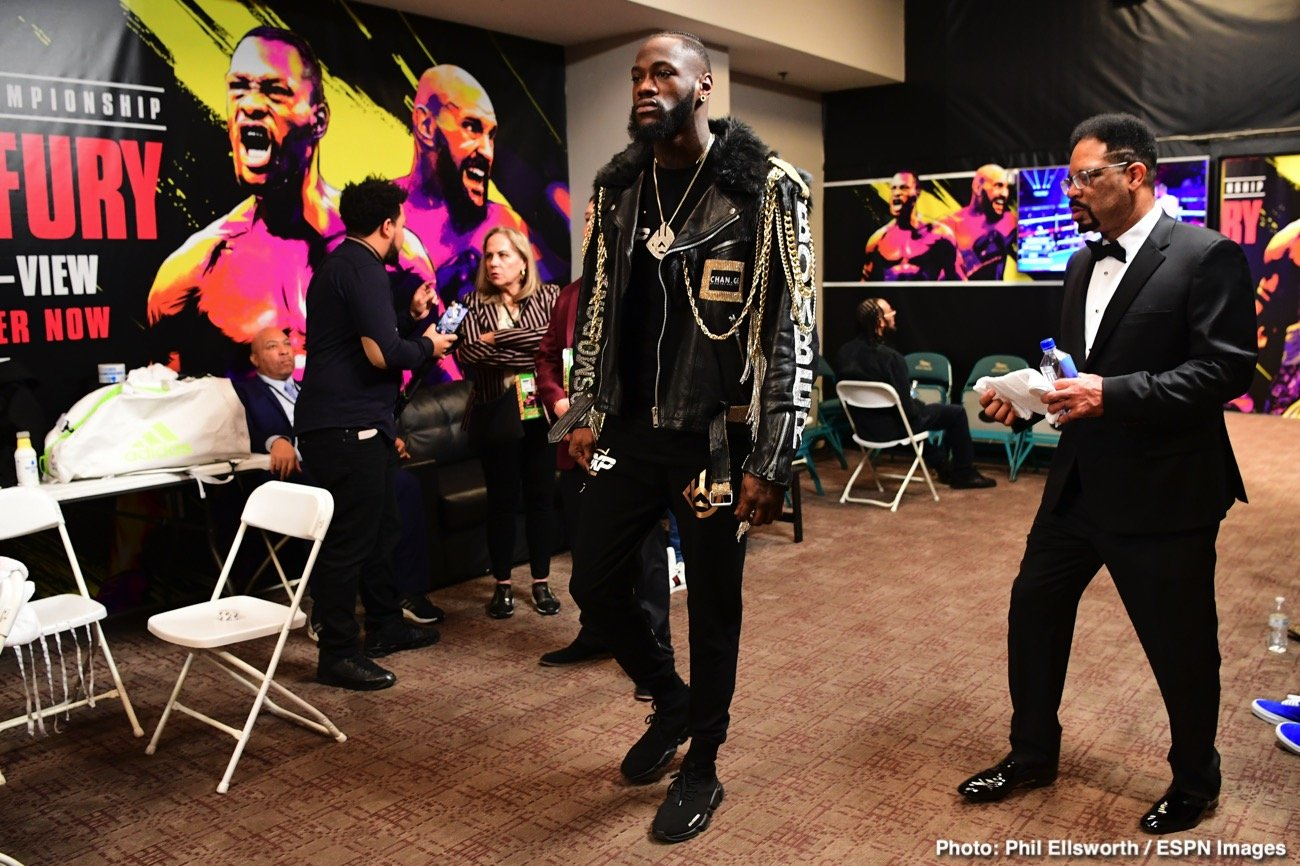 Deontay Wilder, Tyson Fury - Former WBC heavyweight champ Deontay Wilder has been unusually quiet over the past few months, this leading more than a few fans to wonder if the beating Wilder took in his February rematch with Tyson Fury caused him to go into meltdown.