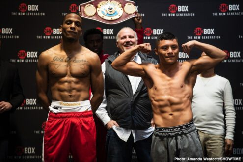 Adam Lopez, Isaac Cruz, Raeese Aleem, Thomas Mattice - Boxing News