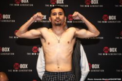 Adam Lopez, Isaac Cruz, Raeese Aleem, Thomas Mattice - Rising lightweight prospect and ShoBox: The New Generation veteran Thomas Mattice and hard-hitting Isaac Cruz both made weight a day before their ShoBox main event on Friday, February 14 live on SHOWTIME (10 p.m. ET/PT) from 2300 Arena in Philadelphia, Pa.