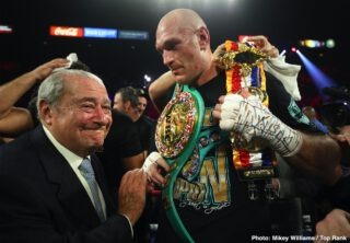 Tyson Fury - Tyson Fury has given up on his December 5th in London, England, and will now be fighting in 2021. Fury (30-0, 21 KOs) took to social media on Sunday to let his fans know that he's done for the year.