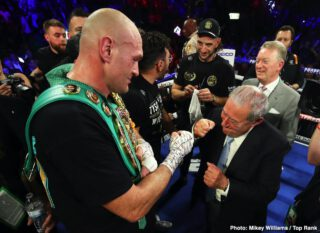 Anthony Joshua, Tyson Fury - Promoted Eddie Hearn says there's still a lot of obstacles that need to be overcome before the heavyweight unification fight between Tyson Fury and Anthony Joshua is a done deal. Right now, the contracts haven't been signed for the match. The only thing they've agreed on is the financial side.
