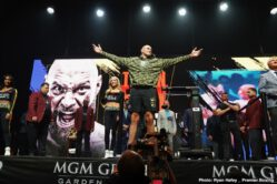 Deontay Wilder, Tyson Fury - Unbeaten WBC Heavyweight Champion Wilder & Undefeated Lineal Heavyweight Champion Fury Battle in Highly Anticipated Rematch Saturday, February 22 in FOX Sports PPV & ESPN+ PPV from the MGM Grand Garden Arena in Las Vegas.