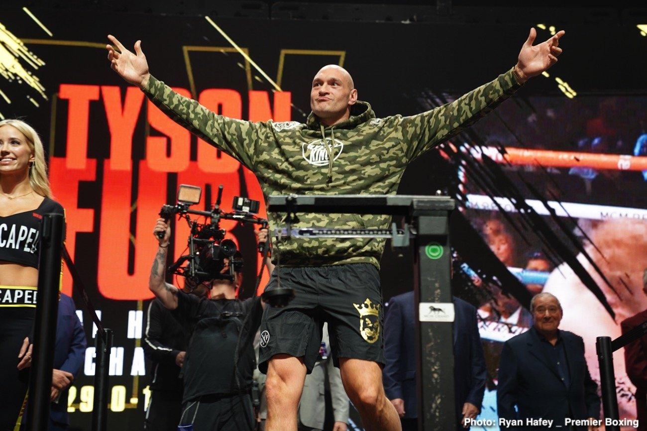 Anthony Joshua, Tyson Fury - British Boxing