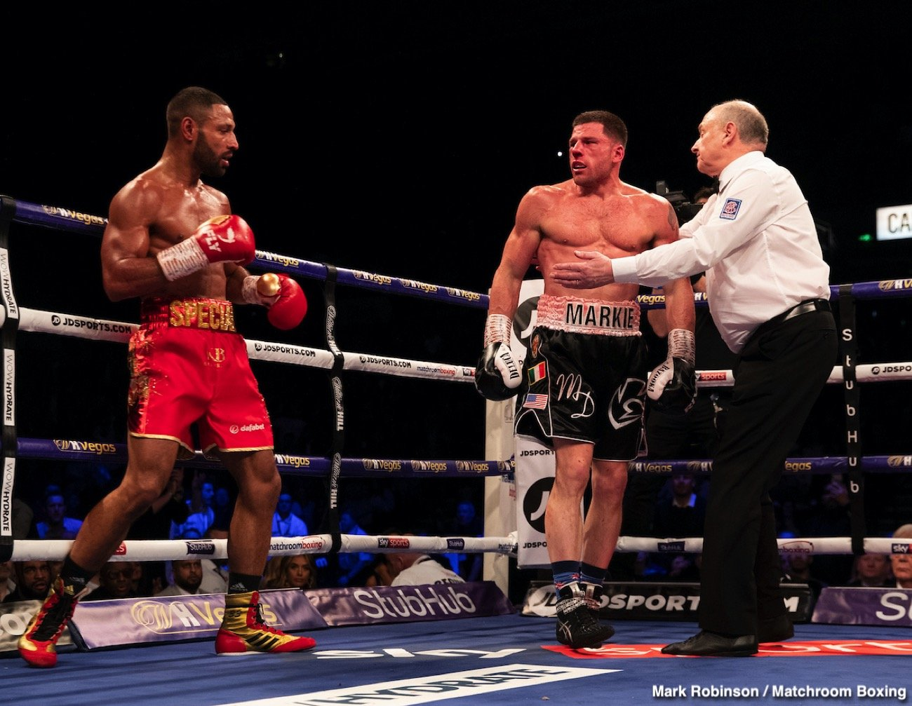 Kell Brook - Kell Brook made a statement last weekend with his stoppage win over Mark DeLuca: one that said 'I'm back.' Now having the hunger back, the former IBF welterweight champ is looking at becoming a two-weight champion. But Brook, 39-2(27) is also hoping to be given the chance to avenge his loss to Errol Spence and to fight the best of the best.