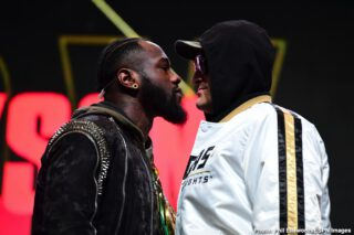 """Deontay Wilder - The notion of a world heavyweight title fight taking place on Christmas Day likely makes a fight fan think of the movie, """"Rocky IV."""" Although the fictitious battle between Rocky Balboa and Ivan Drago was actually a non-title fight, the massive bout attracted an enormous audience despite it taking place on December 25. That was fiction yet we could be in store for the real thing."""
