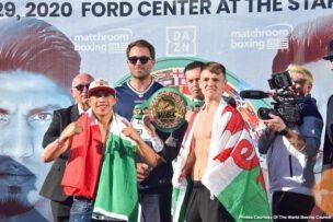 Jay Harris, Jessie Vargas, Joseph Parker, Julio Cesar Martinez, Khalid Yafai, Mikey Garcia, Roman Gonzalez, Shawndell Winters - Boxing News
