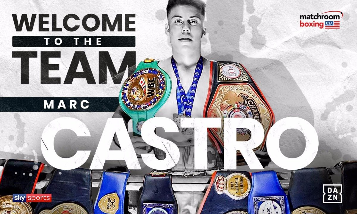 Marc Castro - Eddie Hearn and Matchroom Boxing USA are delighted to announce the signing of amateur standout Marc Castro.