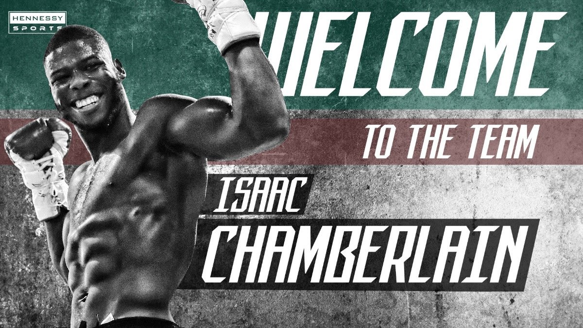 Isaac Chamberlain - Former World Champion Johnny Nelson is a massive fan of top cruiserweight talent Isaac Chamberlain and can't wait to see him return to the ring on Saturday 28th March at the Coventry Skydome, live and exclusive in the UK on free-to-air Channel 5.
