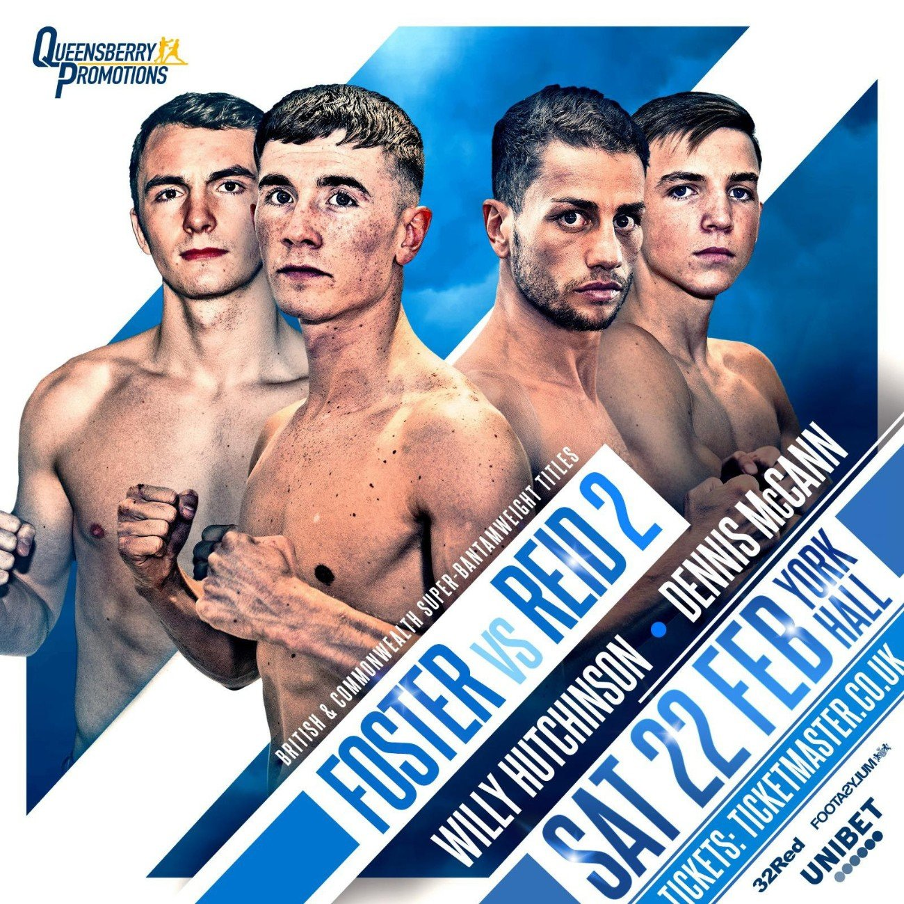 Brad Foster, Lucien Reid - FRANK WARREN and Queensberry Promotions talent stacked stable will get terrestrial TV exposure following BT Sport's innovative link up with ITV.