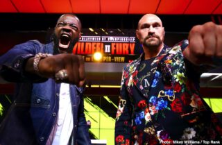 Deontay Wilder, Tyson Fury - The time has nearly arrived - The sequel to one of the most electrifying fights of recent times is about to take place in the MGM Grand tonight. The first installment was unforgettable. I remember the goosebumps and the heart palpitations I had when watching it live on screen. I could not believe the chutzpah of Fury, how he was able to stand in front of Wilder, hands down, slipping and sliding, goading him like some demented matador, and each time making the bull miss by inches. I have never been so enthralled or nervous watching a fight. Even as the strategy showed itself to be working flawlessly, there was never a moment of peace. Wilder was not deterred, and like a frenzied fiend, he kept in constant pursuit of the Gypsy King.