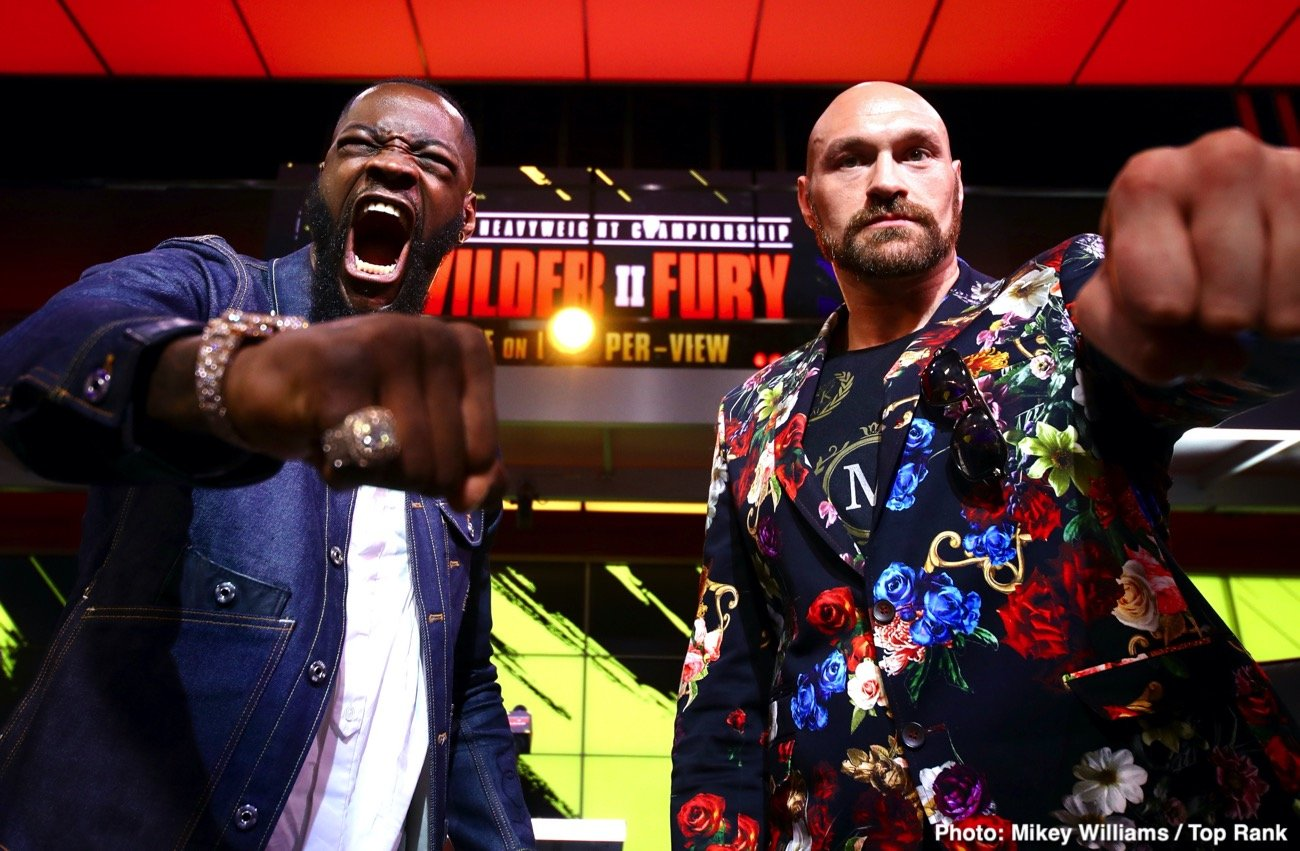Deontay Wilder, Tyson Fury - Imagine if you will, Deontay Wilder defeating Tyson Fury in ther upcoming rematch, then toppling Anthony Joshua in yet another massive fight, then seeing off all comers he might run into (or they might run into him), and then retiring at age 40, unbeaten. Undefeated. Perfect (aside from that draw with Fury). If this happened, where would you rank Wilder among the pantheon of heavyweight greats? Pretty highly, I would hazard a guess.