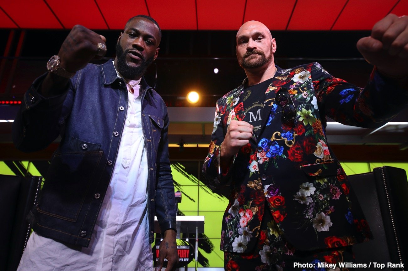 Deontay Wilder, Tyson Fury - The question posed in the above headline: is the Deontay Wilder - Tyson Fury winner the best heavyweight in the world - is a repeat question. Numerous people asked this exact same question ahead of Fury and Wilder's first fight, back in December of 2018. But of course, we never got a winner, the two fighters with such different fighting styles and personalities instead of boxing to a draw.
