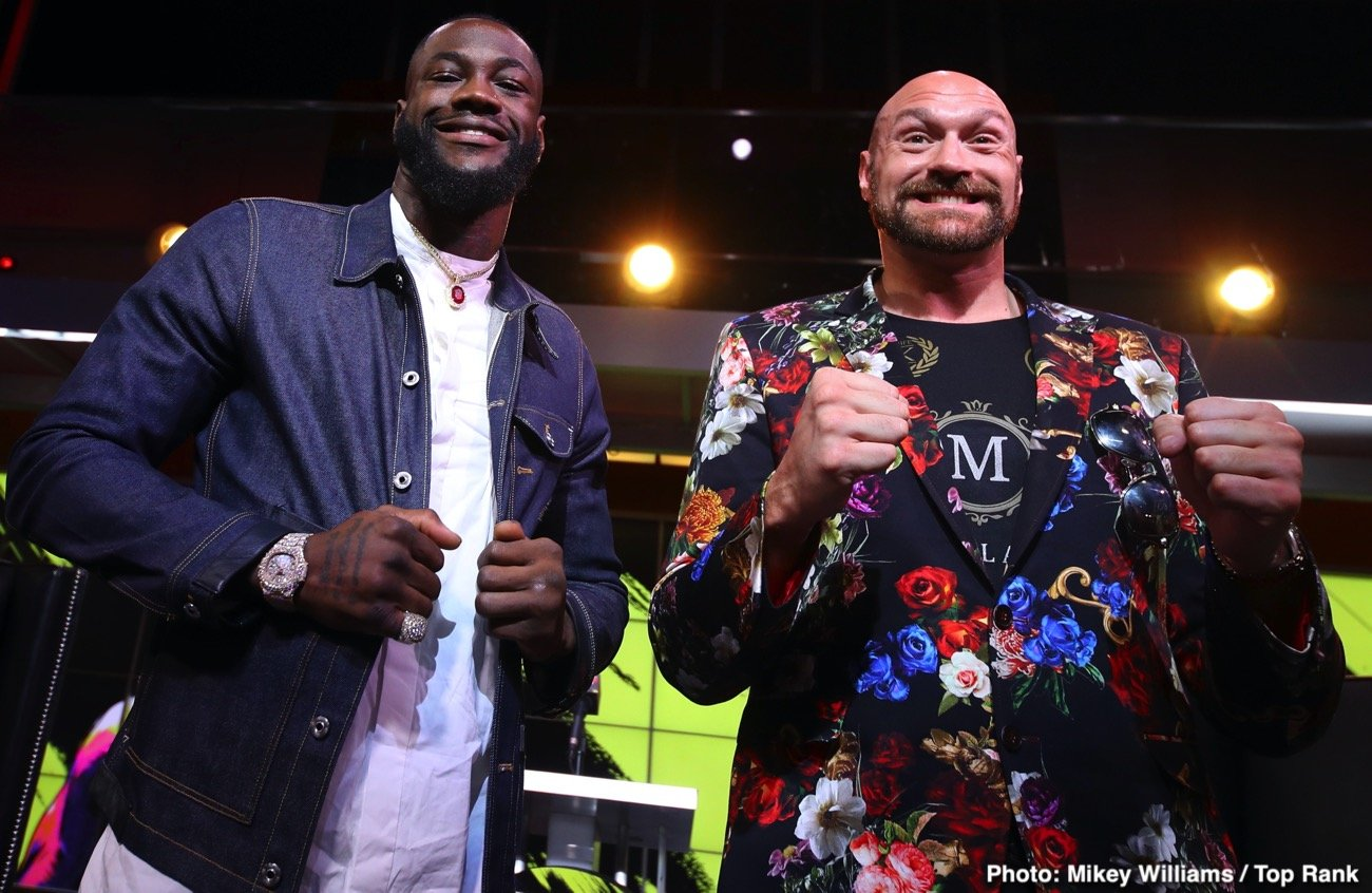 Deontay Wilder, Tyson Fury - Opinion Split on Highly Anticipated Deontay Wilder vs Tyson Fury Rematch This Saturday, February 22 Headlining Historic PPV Event from the MGM Grand Garden Arena in Las Vegas
