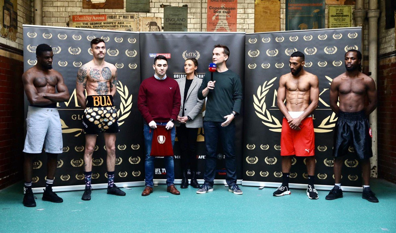 Ryan Walsh - The featherweight and super lightweight MTK Global Golden Contract tournament fields will be narrowed down Friday, as the 10-round semifinal bouts will be contested from London's York Hall. ESPN+ will stream the fights beginning at 2:30 p.m. ET/11:30 a.m. PT.