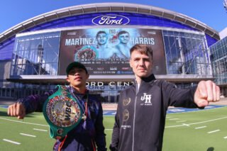 Jessie Vargas - Jay Harris is in Texas to shock the world as the unbeaten European champion and amazon.co.uk warehouse worker challenges Julio Cesar Martinez for the WBC World Flyweight title on Saturday, February 29 at Ford Center at The Star in Frisco, Texas, live on DAZN in the US and on Sky Sports.