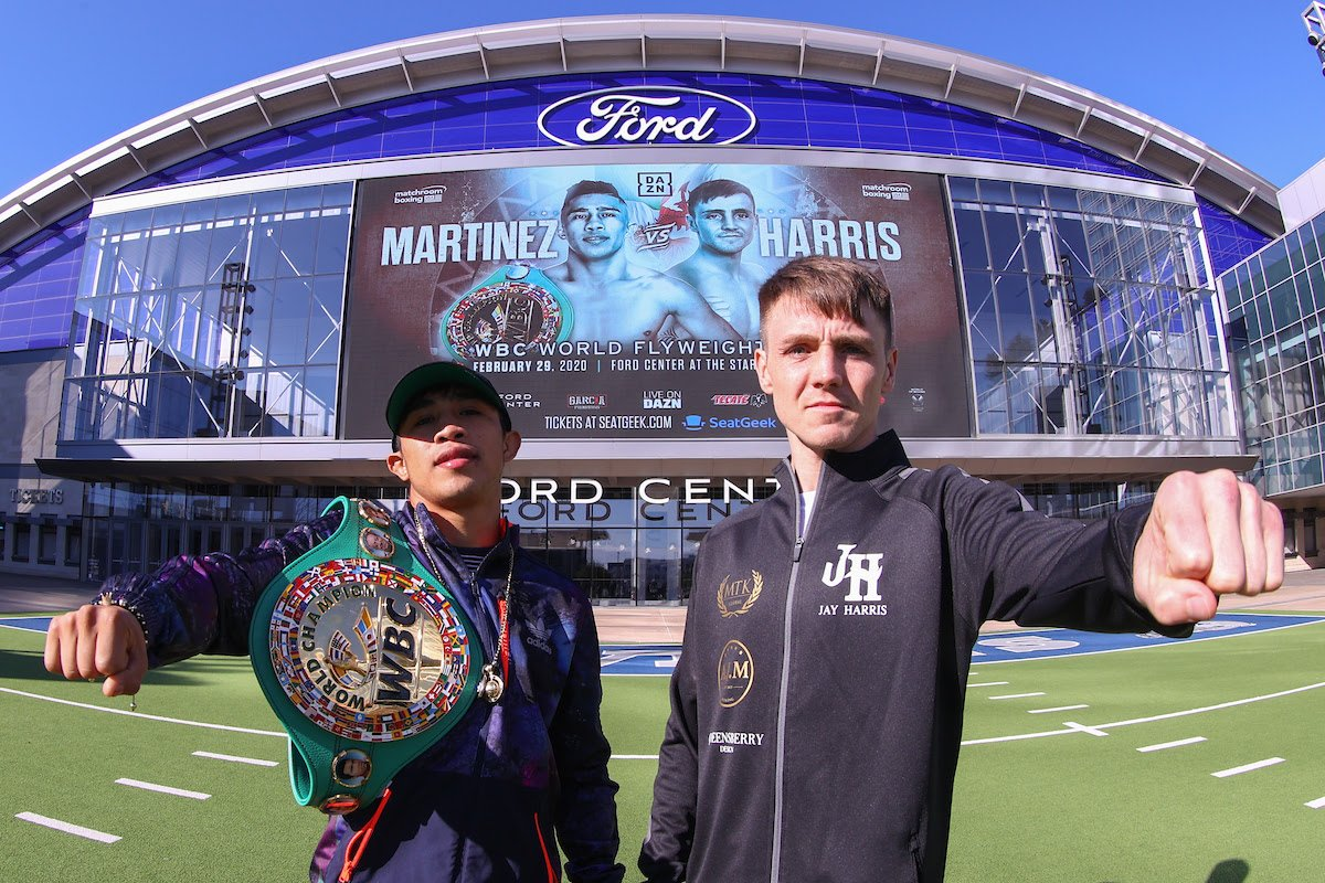 Jay Harris is in Texas to shock the world as the unbeaten European champion and amazon.co.uk warehouse worker challenges Julio Cesar Martinez for the WBC World Flyweight title on Saturday, February 29 at Ford Center at The Star in Frisco, Texas, live on DAZN in the US and on Sky Sports.