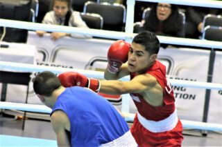Anthony Herrera - From the mean streets of East Los Angeles to a berth on Team USA is a remarkable achievement for the 19-year-old flyweight Anthony Herrera, who recently was selected to be a member of the 2020 Olympic Games Tokyo Boxing Qualification Team.