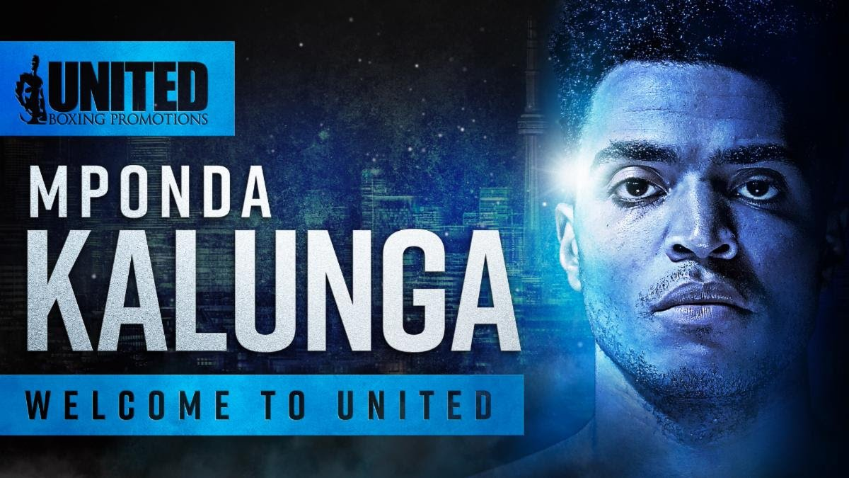 "Mponda Kalunga - United Boxing Promotions (UBP) is excited to announce the signing of Mponda Kalunga (8-2-0, 3KOs) of Toronto, Ontario. Known as the ""Egyptian Prince,"" Kalunga is taking the Canadian fight scene by storm, piling up victories against some of the nation's top prospects. ""He's been on fire,"" explained UBP's Tyler Buxton. ""When he went to Montreal earlier this year and beat Clovis Drolet, we knew he had something special. I can't wait to see what the future holds."""