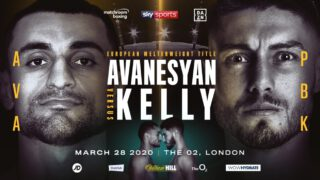 Josh Kelly - David Avanesyan will defend his EBU European Welterweight Title against undefeated rising star Josh Kelly in a bitter grudge match at The O2 in London on Saturday March 28, live on Sky Sports in the UK and DAZN in the US.