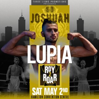 """Bradley Wilcox, Josh Lupia - Three Lions Promotions (TLP) is pleased to announce the addition of Bradley """"The Truth"""" Wilcox (9-0-0, 4KOs) of Hamilton and Josh Lupia (5-0-0, 5KOs) of Niagara Falls to the lineup for """"Rdy 2 Roar"""" on Saturday, May 2, at the Hamilton Convention Centre. Wilcox was ready for his first title shot back in September, only to have his opponent withdrawn for medical precautions. Lupia was a decorated amateur and remains undefeated as a professional. The card is headlined by Bradley's brother Jessie """"Roc"""" Wilcox (15-0-2, 9KOs) against an opponent TBA."""