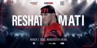 Reshat Mati - Rising Welterweight starlet Reshat Mati will make his UK debut on the undercard of Scott Quigg vs. Jono Carroll at Manchester Arena on Saturday March 7, live on Sky Sports in the UK and DAZN in the US.