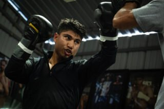 Charlie Navarro - Mikey Garcia says he will prove he can win a World title at Welterweight and become a five-weight World champion as he prepares to face Jessie Vargas at 147lbs at Ford Center at The Star in Frisco, Texas on Saturday February 29, live on DAZN in the US and on Sky Sports in the UK.