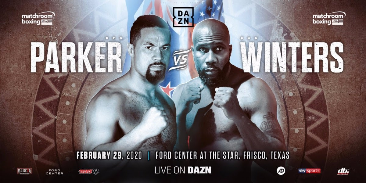 Jay Harris, Jessie Vargas, Joseph Parker, Julio Cesar Martinez, Kal Yafai, Mikey Garcia, Roman Gonzalez, Shawndell Winter - Joseph Parker will return to action against Shawndell Winters at Ford Center at The Star in Frisco, Texas, on Saturday February 29, live on DAZN in the US and on Sky Sports in the UK.