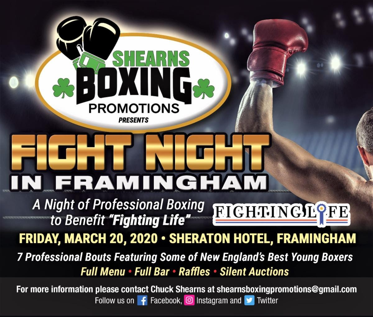 """The son of Sandman, Jarel """"Sandman"""" Pemberton, returns to the ring for the first time in nearly two years on the """"Fight Night In Framingham"""" card, presented by Shearns Boxing Promotions (SBP), March 20, at Sheraton Framingham Hotel in Framingham, Massachusetts."""
