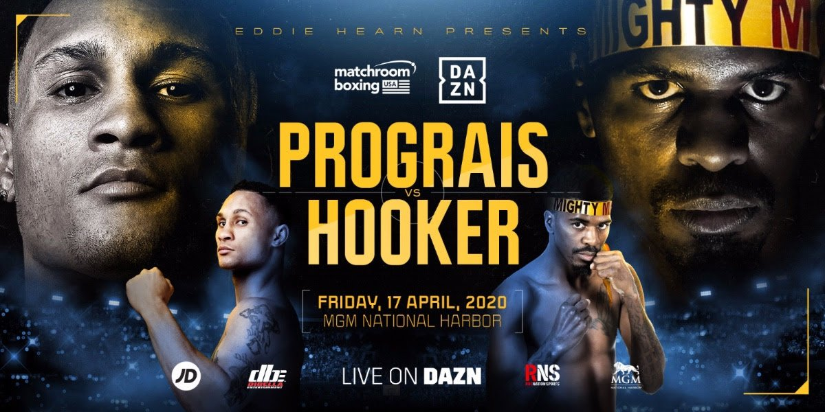 Maurice Hooker - UPCOMING PREMIER BOXING CHAMPIONS EVENTS CANCELLED