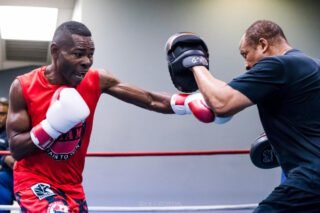 Guillermo Rigondeaux - Former world champion Guillermo Rigondeaux will seek to become a three-time, two-division world champion when he moves down to bantamweight to challenge former champion Liborio Solis for the vacant WBA title live on SHOWTIME this Saturday, February 8 in a Premier Boxing Champions event from PPL Center in Allentown, Pa.