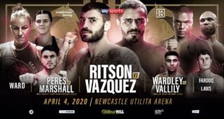 Lewis Ritson - Lewis Ritson will clash with former long-reigning World Champion Miguel Vazquez on a huge night of action at the Utilita Arena Newcastle on Saturday April 4, live on Sky Sports in the UK and DAZN in the US.