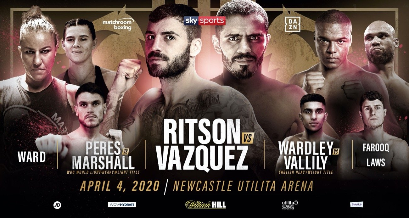 Lewis Ritson, Miguel Vazquez - Lewis Ritson will clash with former long-reigning World Champion Miguel Vazquez on a huge night of action at the Utilita Arena Newcastle on Saturday April 4, live on Sky Sports in the UK and DAZN in the US.