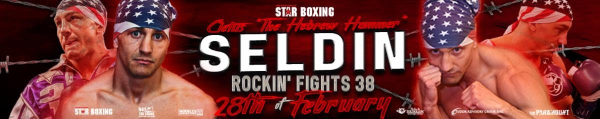 "Cletus Seldin, Humberto Martinez - On February 28, JOE DEGUARDIA'S STAR BOXING returns to The Paramount in Huntington, Long Island, for one of the most anticipated ""Rockin' Fights"" to date.  The return of CLETUS ""THE HEBREW HAMMER"" SELDIN (Shirley, NY 24-1 20KO's) to where it all began has Long Island buzzing.  Seldin will be defending his NABA Super Lightweight Title against Colombian veteran HUMBERTO ""METRALETTA"" MARTINEZ (Monteria, Columbia 33-9-2 17KO's)."