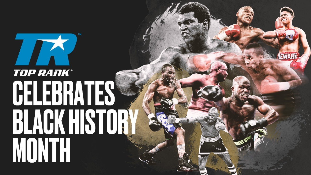 Top Rank has opened up the video vault in honor of Black History Month. Throughout the month, Top Rank's YouTube channel will highlight some of boxing's most memorable nights featuring pugilistic household names such as Ali, Foreman and Hagler. So, grab your favorite snack and hop into a boxing video time machine.