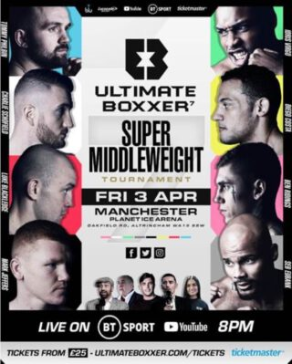 Tommy Philbin - EUBANK, JEFFERS AND COSTA SET TO COMPETE IN THE MOST HIGH-PROFILE LINE UP TO DATE - EVENT WILL TAKE PLACE AT MANCHESTER ICE ARENA, FRIDAY, APRIL 3 - TICKETS ON GENERAL SALE NOW