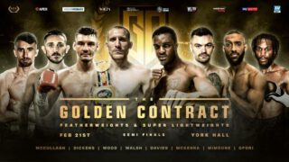 Jazza Dickens - York Hall plays host to a colossal night of boxing tonight as the #GoldenContract semi-finals take place – live on Sky Sports in the UK in association with Matchroom Boxing and on ESPN+ in the US in association with Top Rank.