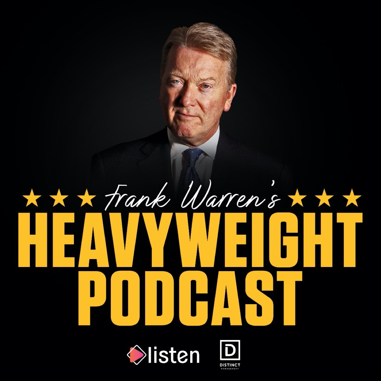Frank Warren - Hall of Fame promoter Frank Warren has paired up with audio powerhouse Listen to bring a truly 'heavyweight' podcast to fans across the globe - Frank Warren's Heavyweight Podcast - and Episode 1 is AVAILABLE NOW!
