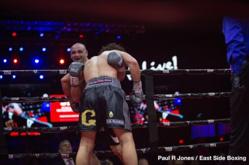 "Demond Nicholson - By Paul R Jones!  Hanover, MD – On Friday night at the Live! Casino & Hotel, Demond 'D'Best@It' Nicholson (23-3-1, 20 KOs) had to dig deep to pull out a split decision victory over Michael ""The Menace"" Guy (12-5-1, 5 KOs) in a bout chock-full of phone booth warfare."