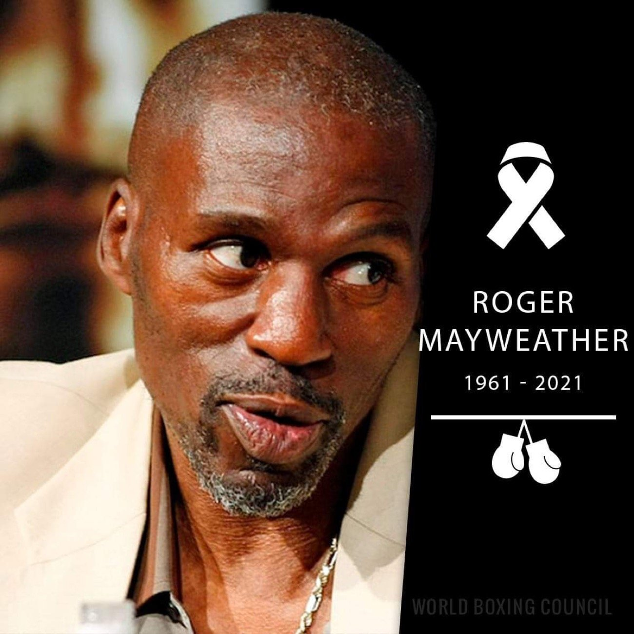 Roger Mayweather - Floyd Mayweather, along with the boxing world, mourns the death today of his uncle, former world champion and legendary trainer Roger Mayweather, after a long battle with diabetes.