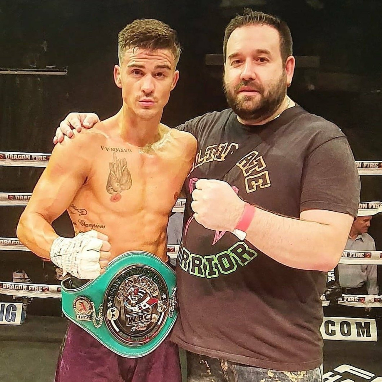 Jackson England - All action Australian Jackson England is still buzzing in the wake of picking up his first WBC strap, which came in the form of their Asia Boxing Council super featherweight title.