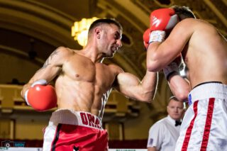 Luke Caci - Luke Caci will hit double figures as a professional boxer looking to further establish himself as a super middleweight.