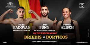 Denis Radovan, Leon Bunn, Mairis Briedis, Sophie Alisch, Yuniel Dorticos - German fight fans can look forward to watching the World Boxing Super Series Season II conclusion after the WBSS partnered with BILDplus to exclusively broadcast the Mairis Briedis vs Yuniel Dorticos Ali Trophy showdown on 26 September in Munich.