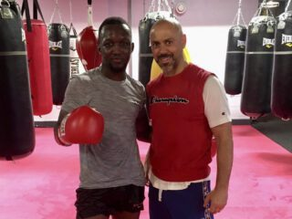 Abass Baraou - Abass Baraou (9-0, 6 KOs) has linked up with renowned British coach Adam Booth as the German super welterweight star looks to realise his World title ambitions.