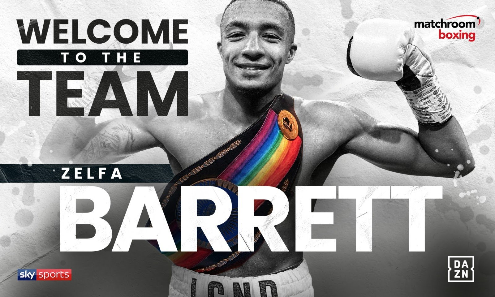 Zelfa Barrett - Zelfa Barrett has signed a promotional deal with Eddie Hearn's Matchroom Boxing and will make his highly-anticipated Sky Sports debut on the blockbuster Dillian Whyte vs. Alexander Povetkin bill at Manchester Arena on Saturday, May 2.