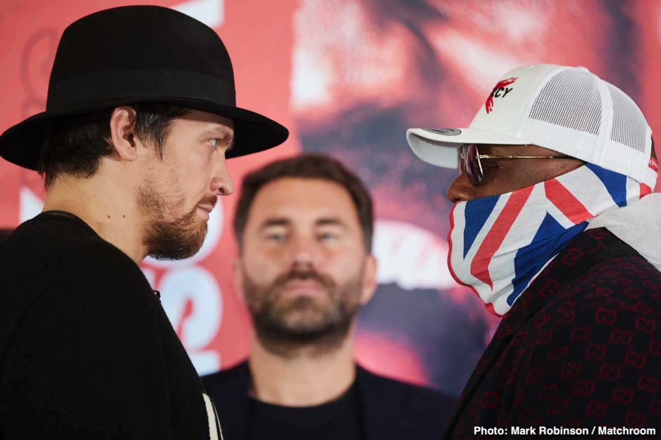 USYK VS. CHISORA PRESS CONFERENCE QUOTES