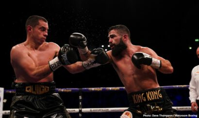 Hughie Fury, Jono Carroll, Pavel Sour, Scott Quigg - In a masterclass performance, super featherweight contender Jono Carroll (18-1-1, 4 KOs)  embarrassed former 122-lb champion Scott Quigg (35-3-2, 26 KOs) in totally schooling him in scoring an 11th round retirement stoppage on Saturday night in front of an excited crowd at the Manchester Arena in Manchester, England.